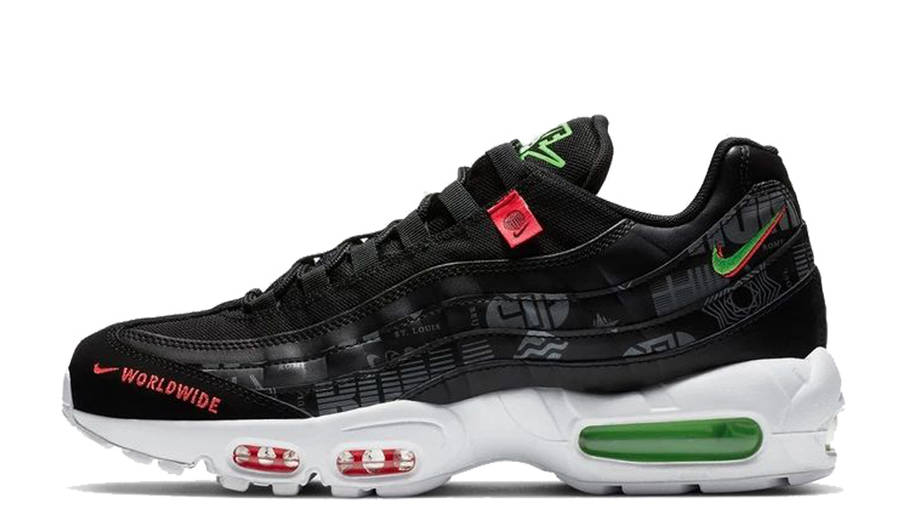 Nike Air Max 95 SE Worldwide Black   Where To Buy   CQ9743-001 ...