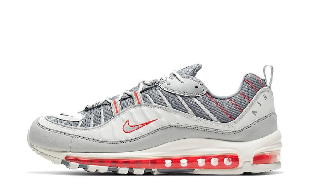 alguna cosa Estar confundido Bigote  Nike Air Max 98 Grey Habanero Red | Where To Buy | CJ0592-001 | The Sole  Supplier