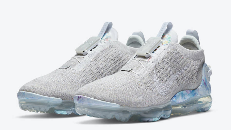 Nike Air VaporMax 2020 Flyknit Summit White Front