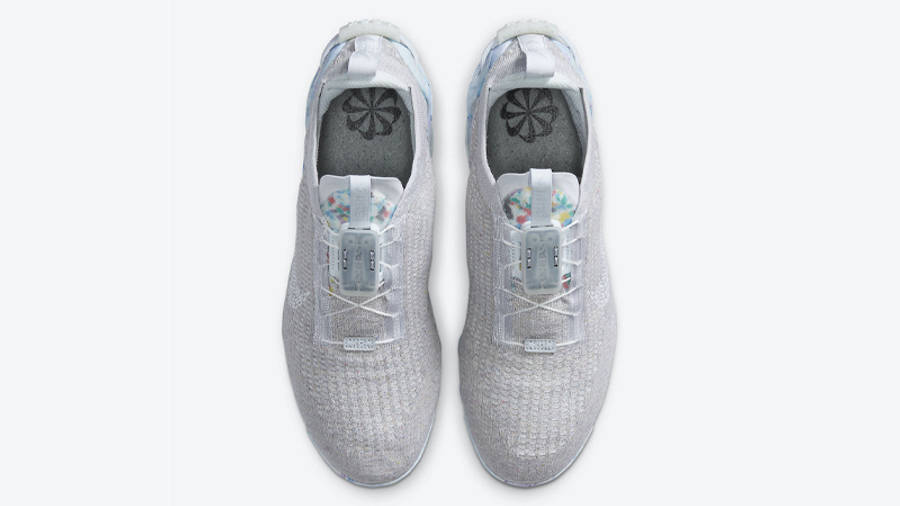 Nike Air VaporMax 2020 Flyknit Summit White Middle