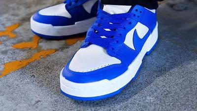 Nike Dunk Low Disrupt Game Royal Blue On Foot