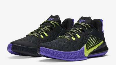 Nike Mamba Fury Lakers Away Front