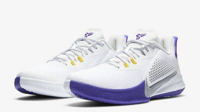 Nike Mamba Fury Lakers Home Front