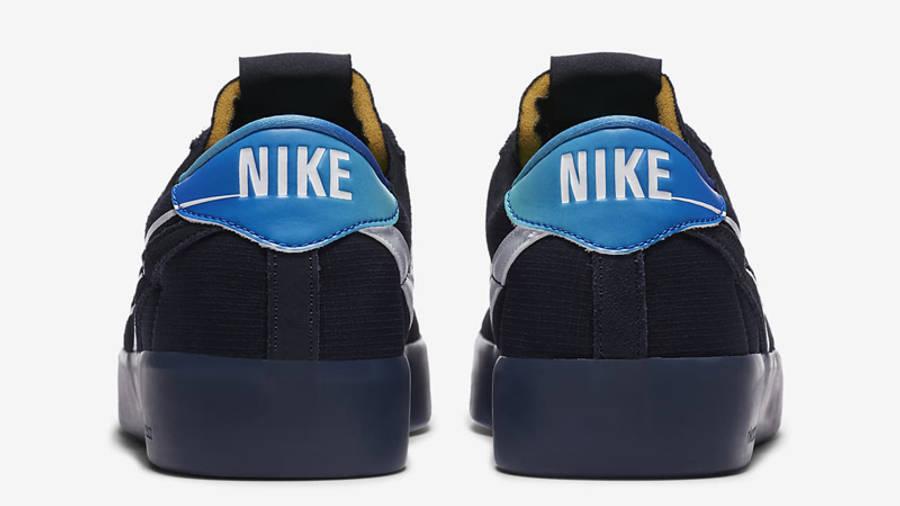 Nike SB Bruin React T Dark Obsidian Back