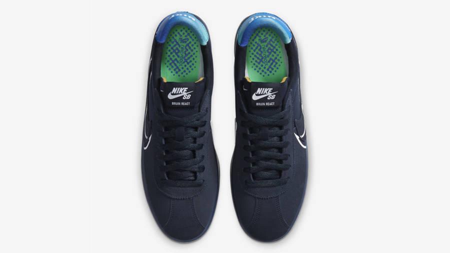 Nike SB Bruin React T Dark Obsidian Middle