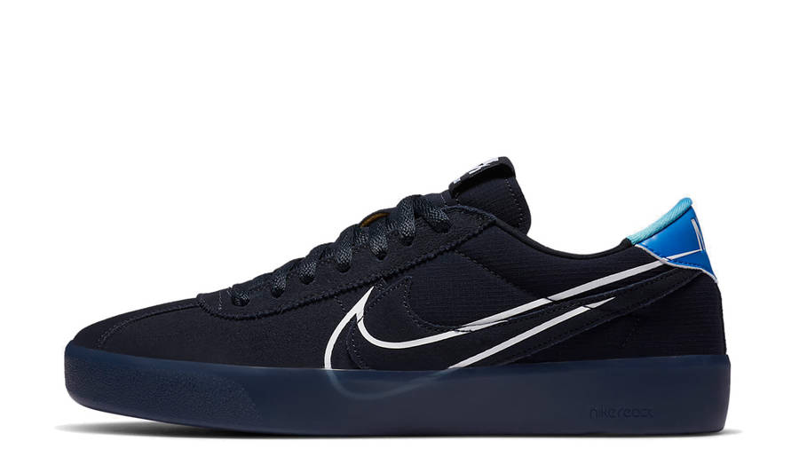 Nike SB Bruin React T Dark Obsidian