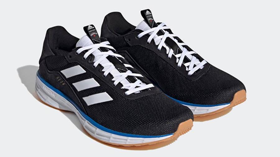 Noah x adidas SL20 Black Blue Front