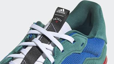 Noah x adidas SL20 Blue Green Closeup