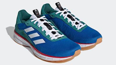 Noah x adidas SL20 Blue Green Front