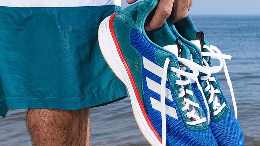 Noah x adidas SL20 Blue Green In Hand