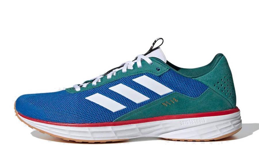 Noah x adidas SL20 Blue Green