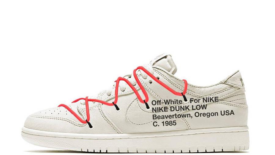 Off-White x Nike Dunk Low White | Where