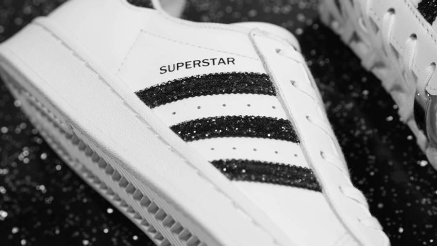 Swarovski x adidas Superstar White Black | Where To Buy | FX7480 ...