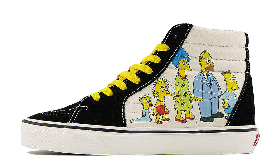 The Simpsons x Vans Sk8-Hi 1987-2020 | Where To Buy | VN0A4BV617E ...