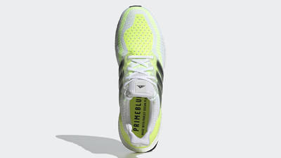 adidas Ultra Boost 2.0 DNA White Solar Yellow Middle