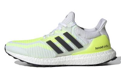 adidas Ultra Boost 2.0 DNA White Solar Yellow