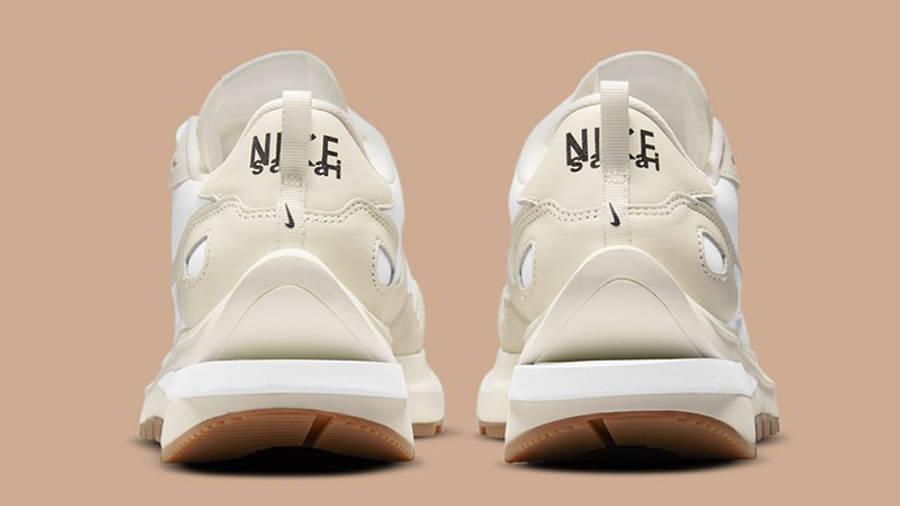 sacai x Nike VaporWaffle White Sail DD1875-100 Back