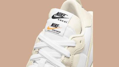 sacai x Nike VaporWaffle White Sail DD1875-100 Detail