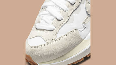 sacai x Nike VaporWaffle White Sail DD1875-100 Top Detail