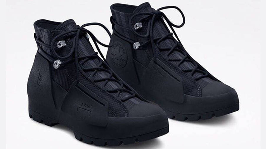 A COLD WALL X Converse Lugged Hi Black front