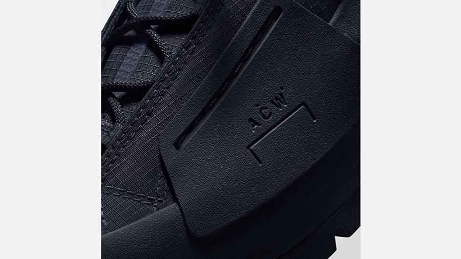 A COLD WALL X Converse Lugged Hi Black sole