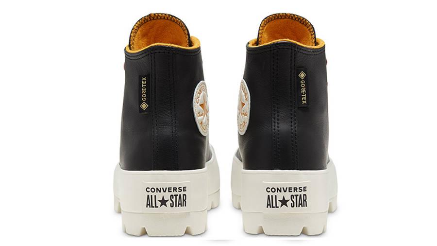 Converse Chuck Taylor All Star Lugged Winter High Top Black Saffron 568763C back