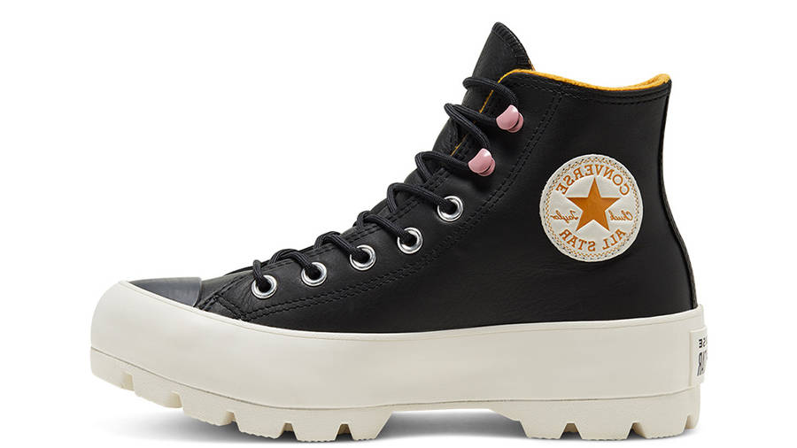 Converse Chuck Taylor All Star Lugged Winter High Top Black Saffron 568763C