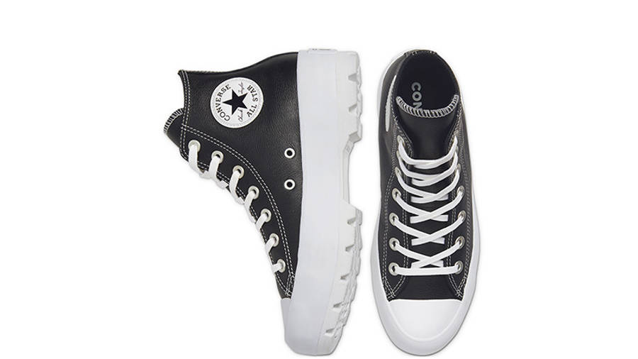 Converse Chuck Taylor All Star Lugged Winter High Top Black White 567164C middle