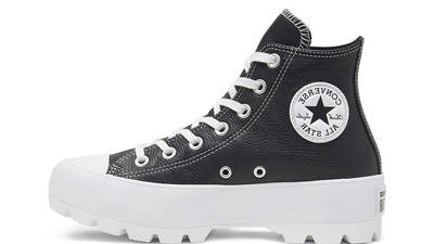 Converse Chuck Taylor All Star Lugged Winter High Top Black White 567164C