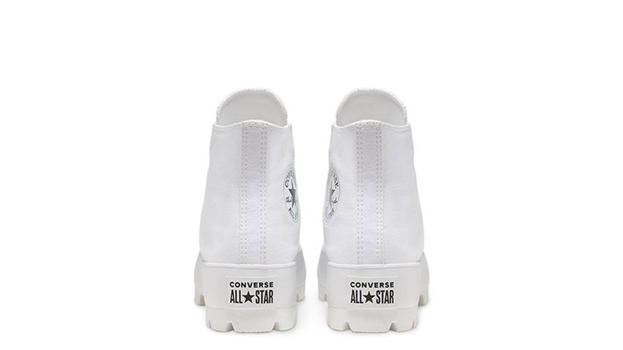 Converse Chuck Taylor All Star Lugged Winter High Top White Black 565902C back