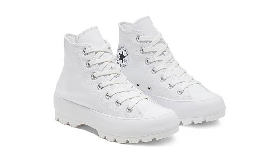 Converse Chuck Taylor All Star Lugged Winter High Top White Black 565902C front