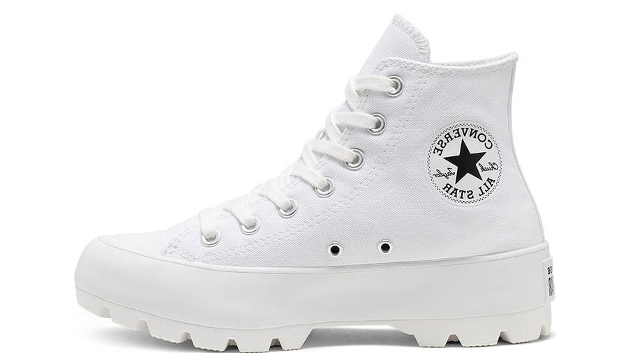 Converse Chuck Taylor All Star Lugged Winter High Top White Black 565902C