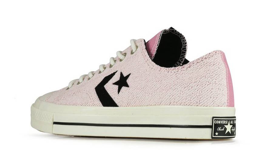 Converse Ox Star Player Reverse Terry Lotus Pink 168755C back