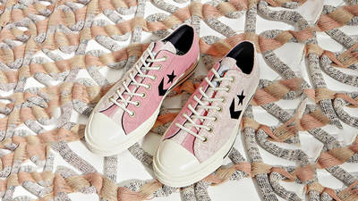 Converse Ox Star Player Reverse Terry Lotus Pink 168755C lifestyle