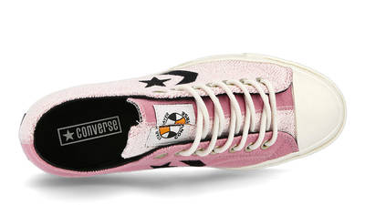 Converse Ox Star Player Reverse Terry Lotus Pink 168755C side