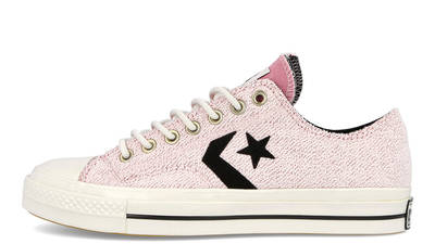 Converse Ox Star Player Reverse Terry Lotus Pink 168755C