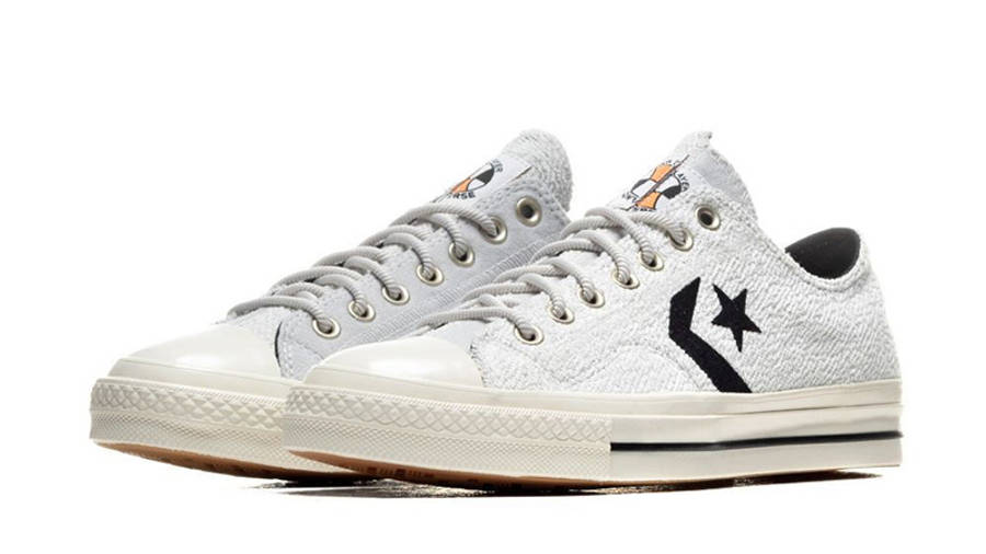 Converse Ox Star Player Reverse Terry Lunar Rock 168754C front side
