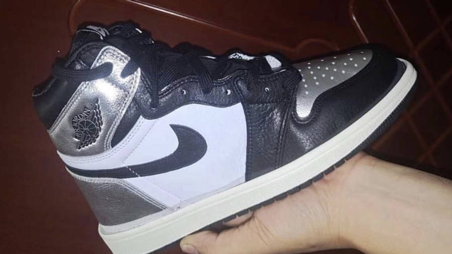 Jordan 1 High OG Metallic Silver In Hand