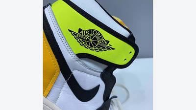 Jordan 1 High Volt Gold 555088-118 heel tab