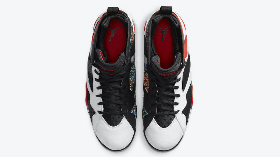 Jordan 7 GC Chile Red Middle