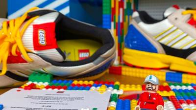 LEGO X adidas ZX 8000 Yellow Blue Lifestyle