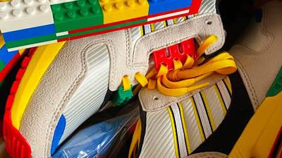 LEGO X adidas ZX 8000 Yellow Blue Lifestyle Top