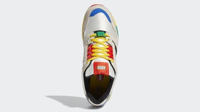 LEGO X adidas ZX 8000 Yellow Blue Middle