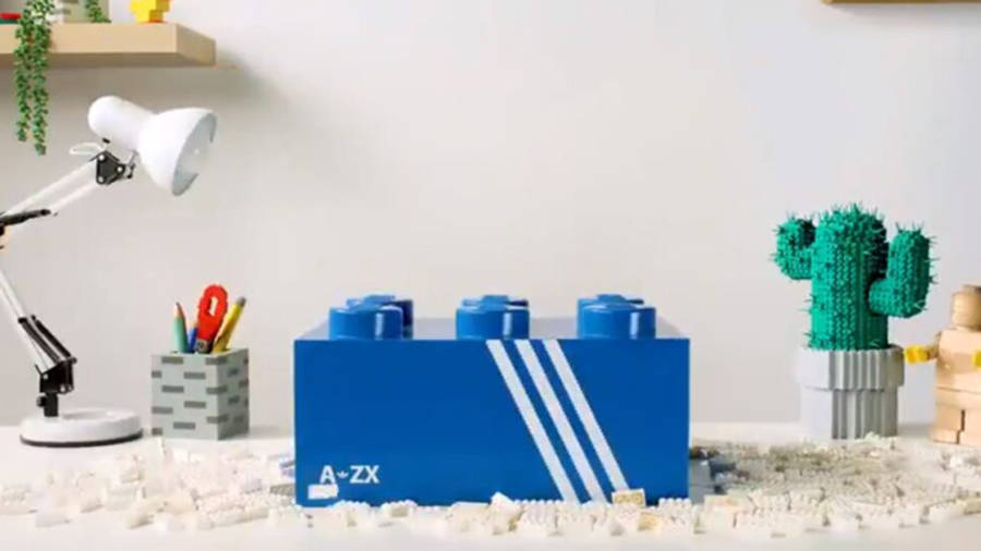 LEGO X adidas ZX 8000 Yellow Blue Pack
