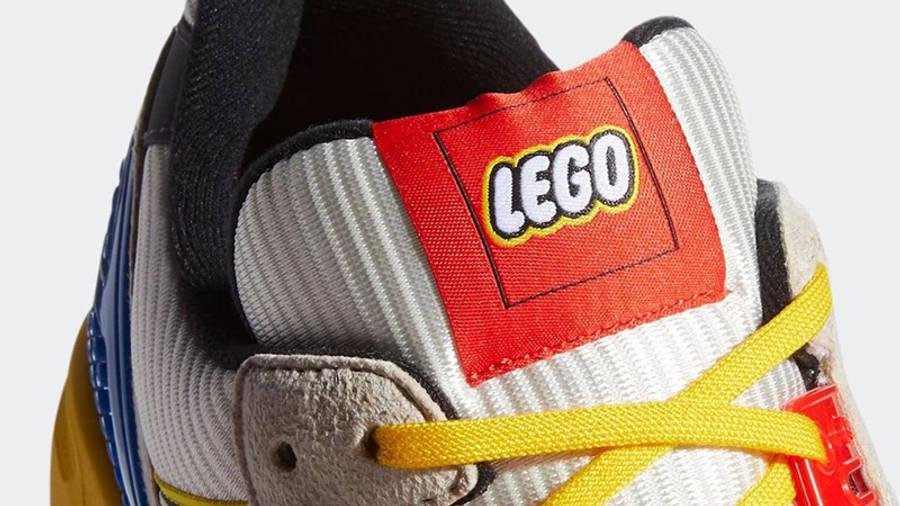 LEGO X adidas ZX 8000 Yellow Blue Tongue