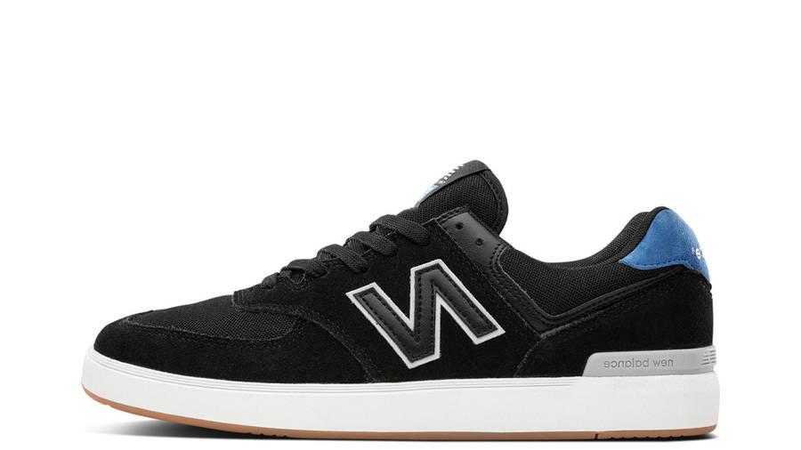 New Balance 574 All Coasts Black Cobalt Blue