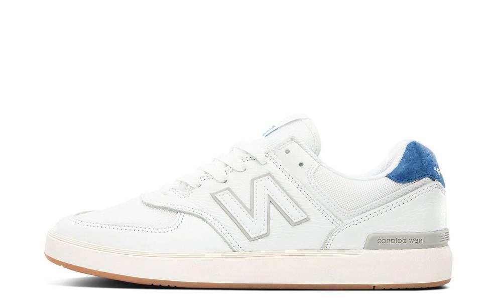 New Balance 574 All Coasts White Cobalt