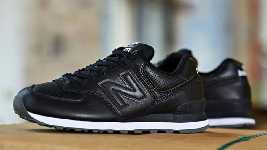 New Balance 574 Black White Lifestyle