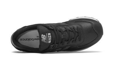 New Balance 574 Black White Middle