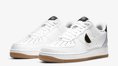 Nike Air Force 1 07 LV8 NBA White Front 1